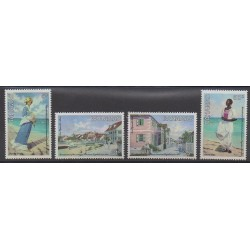 Bahamas - 1983 - No 543/546 - Histoire - Peinture
