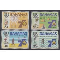 Bahamas - 1985 - Nb 567/570 - Scouts
