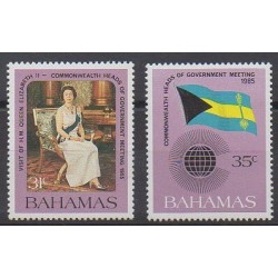 Bahamas - 1985 - No 580/581 - Royauté - Principauté