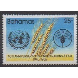 Bahamas - 1985 - No 575 - Nations unies
