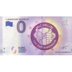 Billet souvenir - L'Aventure Michelin - 2018-7