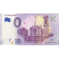 Euro banknote memory - Le Vieux Nice - 2018-1 - Nb 900