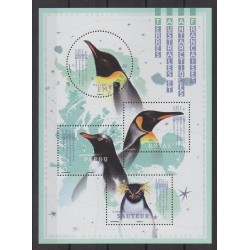 French Southern and Antarctic Lands - Blocks and sheets - 2018 - Nb F874 - Birds