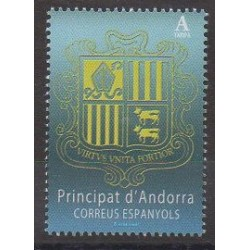 Spanish Andorra - 2018 - Nb 451 - Coats of arms