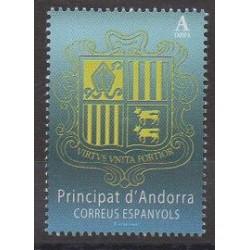 Andorre espagnol - 2018 - No 451 - Armoiries