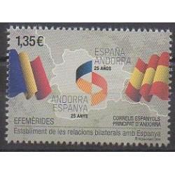 Spanish Andorra - 2018 - Nb 458 - Various Historics Themes - Flags