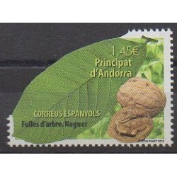 Spanish Andorra - 2018 - Nb 457 - Trees - Fruits or vegetables