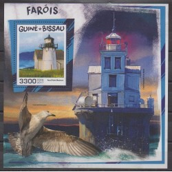Guinea-Bissau - 2017 - Nb BF1366 - Lighthouses