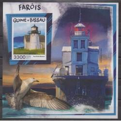 Guinée-Bissau - 2017 - No BF1366 - Phares