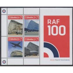 Gibraltar - 2018 - Nb F1864 - Planes - Military history