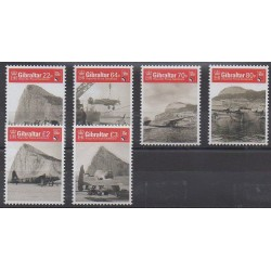 Gibraltar - 2018 - Nb 1858/1863 - Planes - Military history