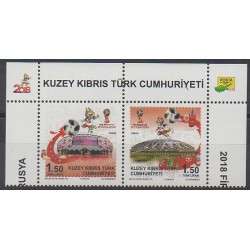 Turkey - Northern Cyprus - 2018 - Nb 801/802 - Soccer World Cup