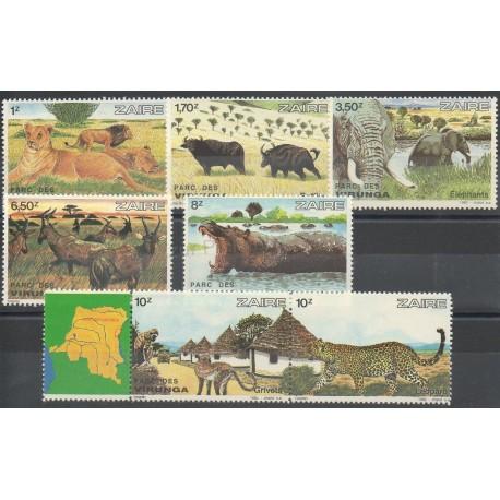 Zaïre - 1982 - No 1098/2004 - Animaux
