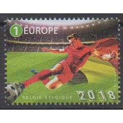 Belgique - 2018 - No 4757 - Coupe du monde de football