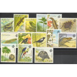 Seychelles - 1993 - Nb 756/769 - Birds