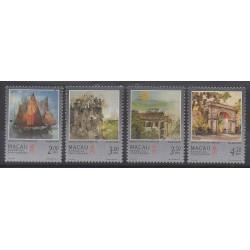 Macao - 1997 - No 848/851 - Peinture