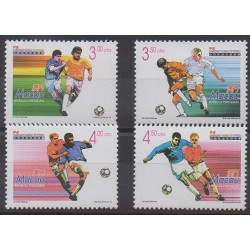 Macao - 1998 - No 905/908 - Coupe du monde de football