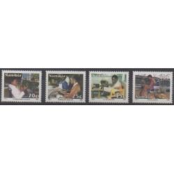Namibie - 1992 - No 687/690 - Artisanat ou métiers