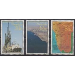 Namibie - 1994 - No 724/726 - Histoire