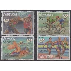 Namibie - 1996 - No 768/771 - Jeux Olympiques d'été