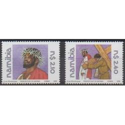 Namibie - 2000 - No 913/914 - Pâques