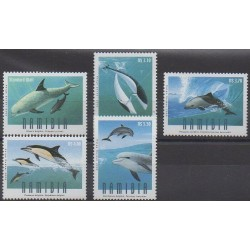 Namibie - 2006 - No 1068/1072 - Animaux marins - Mammifères