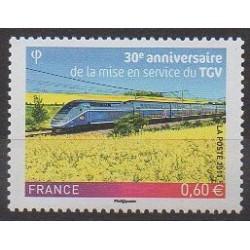 France - Poste - 2011 - No 4592 - Chemins de fer