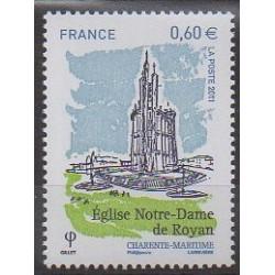 France - Poste - 2011 - No 4613 - Églises