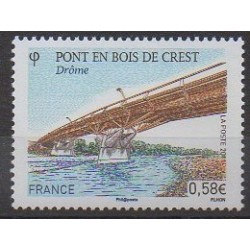 France - Poste - 2011 - Nb 4544 - Bridges