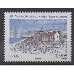 France - Poste - 2011 - Nb 4562 - Churches