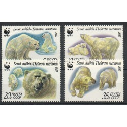 Russie - 1987 - No 5391/5394 - Polaire