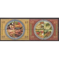 Macao - 2008 - Nb 1405/1412 - Gastronomy