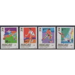 Macao - 1992 - No 666/669 - Jeux Olympiques d'été
