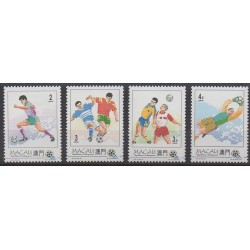 Macao - 1994 - No 722/725 - Coupe du monde de football