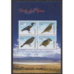 Tanzania - 2011 - Nb 3789/3792 - Birds