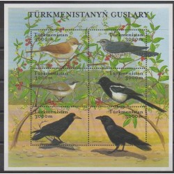 Turkmenistan - 2002 - Nb 169/174 - Birds