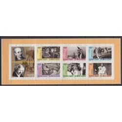 France - Carnets - Personnages célèbres - 1999 - No BC3268 - Art