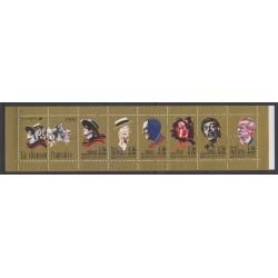 France - Carnets - Personnages célèbres - 1990 - No BC2655 - Musique