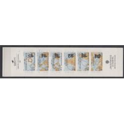 France - Carnets - Personnages célèbres - 1988 - No BC2523a - Navigation