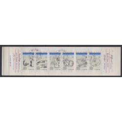 France - Carnets - Personnages célèbres - 1991 - No BC2687 - Littérature - Oblitéré