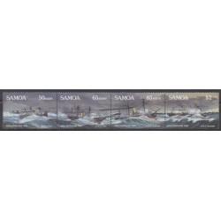 Samoa - 1989 - Nb 690/693 - Boats