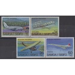 Samoa - 1978 - No 404/407 - Aviation
