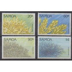 Samoa - 1984 - Nb 776/779 - Sea animals