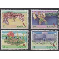 Samoa - 1994 - No 788/791 - Folklore - Tourisme