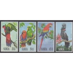 Samoa - 1991 - No 724/727 - Oiseaux