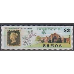 Samoa - 1990 - No 712 - Timbres sur timbres - Philatélie