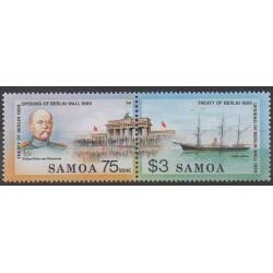 Samoa - 1990 - No 713/714 - Histoire
