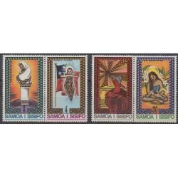 Samoa - 1975 - No 363/366 - Noël