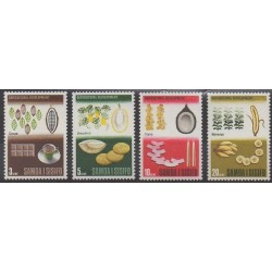 Samoa - 1968 - No 220/223 - Fruits ou légumes - Environnement