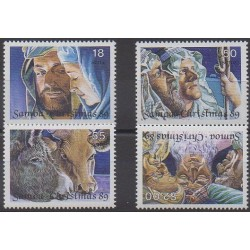 Samoa - 1989 - No 704/707 - Noël
